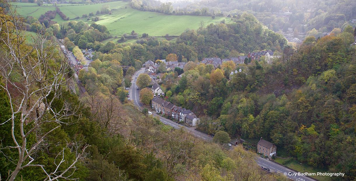 High Tor, Giddy Edge and Lovers Walk - Matlock to Matlock Bath