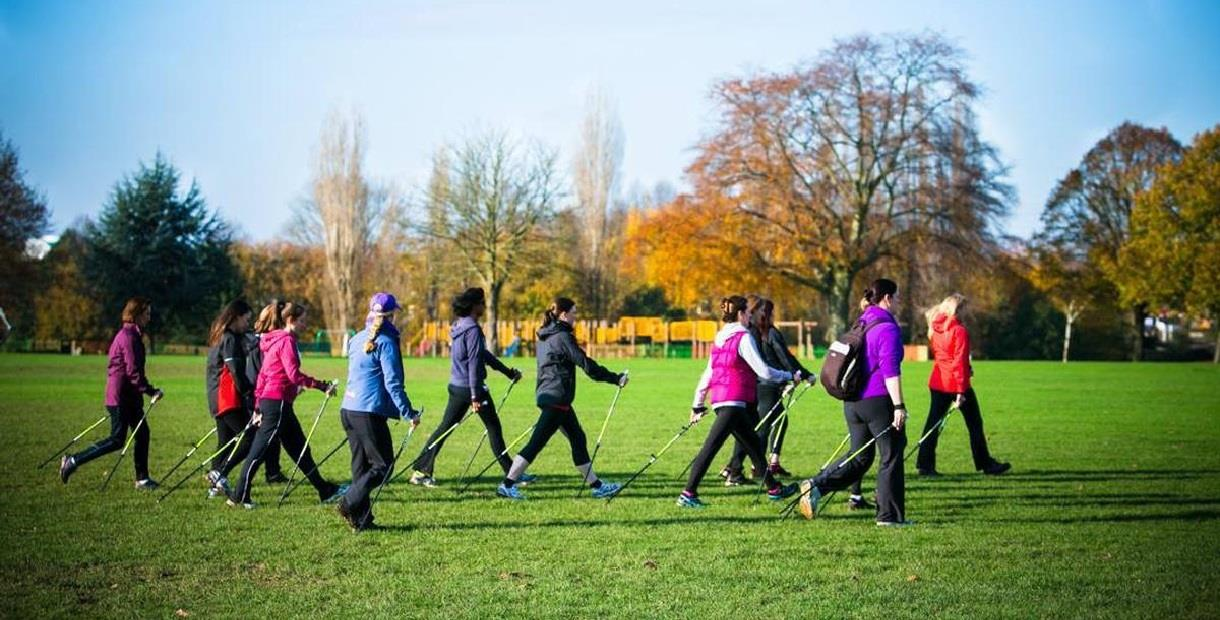 19 Learn to Nordic Walk with Laura - Holmebrook Valley Park 2