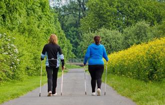 39 Learn to Nordic Walk with Laura - Poolsbrook Country Park 2
