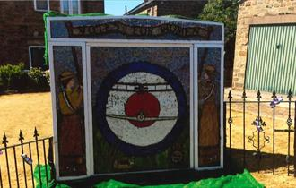 Old Whittington Well Dressing 2018
