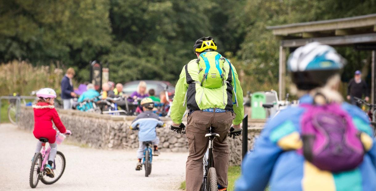 Hills, dales and trails cycle route