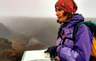 Intermediate navigation training course in Edale, Derbyshire