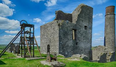 Magpie Mine in the Peak District as seen on this Guided Walk
