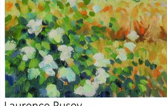 Laurence Pusey Art Shown at Eyam Parish Hall