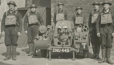 Chesterfield Fire Service during World War 2