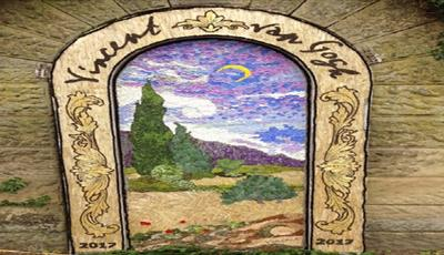 Rowsley Well Dressing