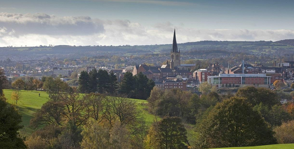 4 The Drone Valley Way from Chesterfield to Dronfield