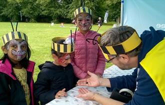 Bumblebees are Superheros! Picnic in the Park