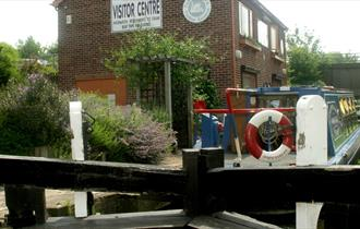 Tapton Lock on the Chesterfield Canal