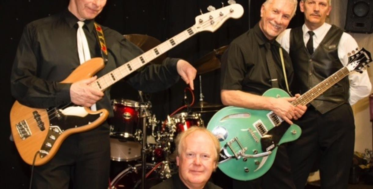 Village Aid Rock & Roll Night with 50's & 60's Band The Rapids