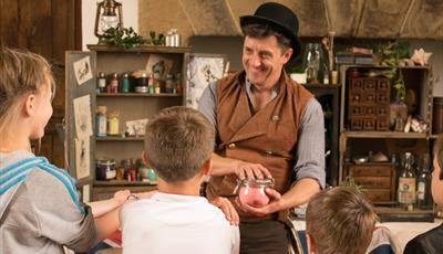 Tricks and Tonics at Bolsover Castle