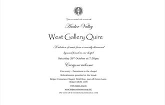 Amber Valley West Gallery Quire