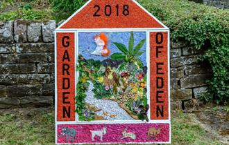 Wingerworth Well Dressing 2018