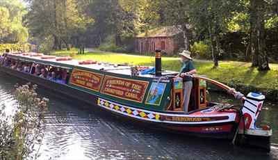 Birdswood, the historical narrow boat