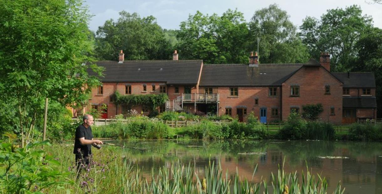 Fishing at Foxtwood Cottages