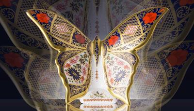 Old Imari SGB Butterfly