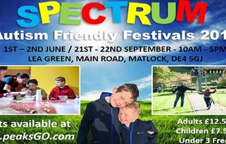 Spectrum Autism Friendly Festival at Lea Green Outdoors Activity Centre