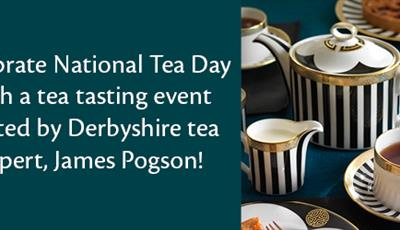 National Tea Day - Tea Tasting Event at Royal Crown Derby