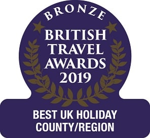 Bronze British Travel Award 2018